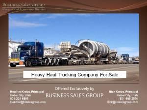 Teaser Heavy Haul Trucking
